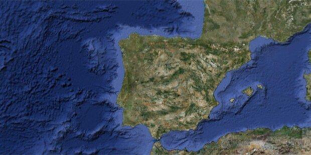 Gewaltiges Sturmtief erreicht Spanien