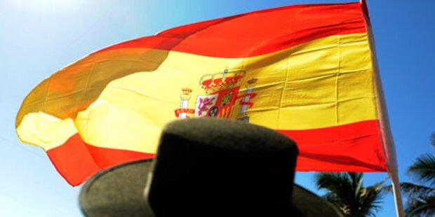 Spanischer Fan niedergestochen