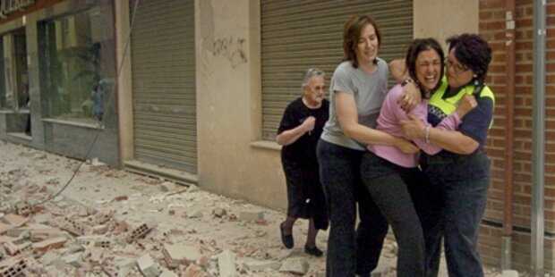 Mehrere Tote bei Beben in Spanien
