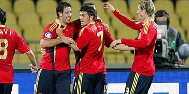 Spanien gelingt der erhoffte Rekordsieg