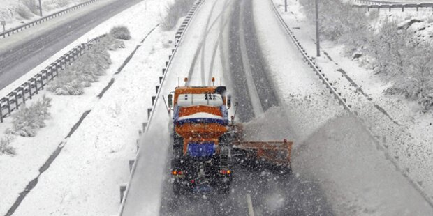 Spanien kämpft mit Wintereinbruch