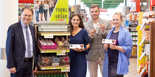 Spar bringt weitere Produkte von Start-ups