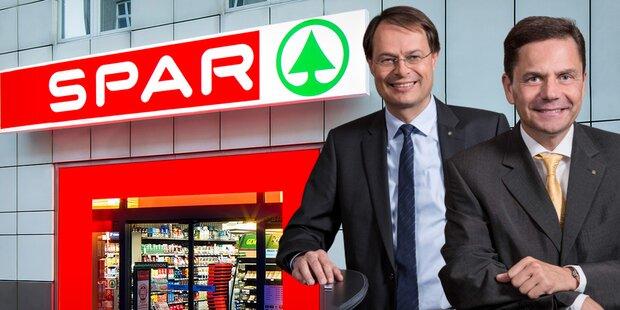 Spar-Chef Drexel übergibt Vorsitz