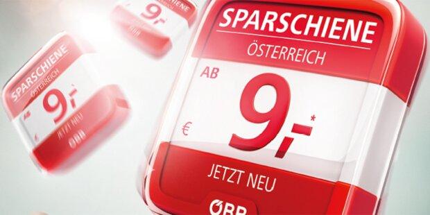 Erfolg für ÖBB SparSchiene: 100.000 Tickets verkauft