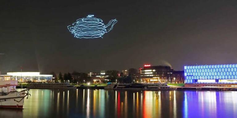 Mega-Erfolg für Linzer Drohnen