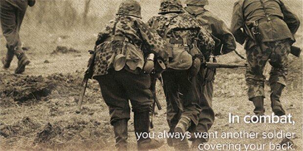 US-Politiker wirbt mit Wehrmachtsfoto