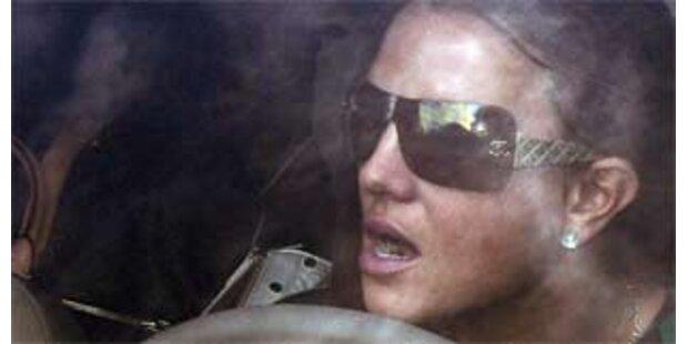 Britney Spears verursacht Auffahrunfall