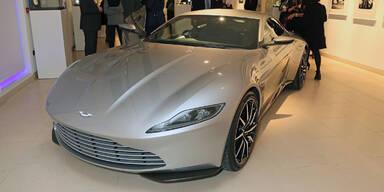 Rekordpreis für James Bond Aston Martin