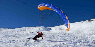 Speedflying als gefährliches Extremparagliding