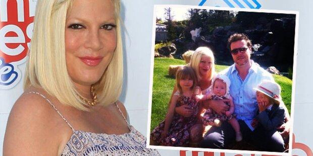 Tori Spelling: Ihr viertes Baby ist da!
