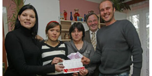 Spendenaktion hilft Arigona