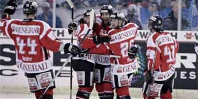 Jubel beim Team Canada