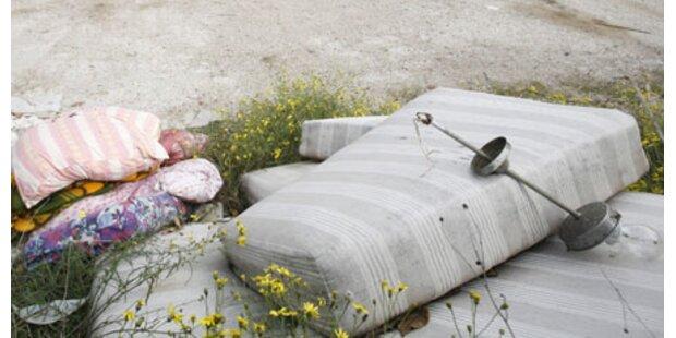 Salzburgs Polizei warnt vor Müll-Mafia