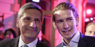 Michael Spindelegger; Sebastian Kurz