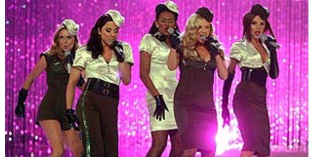 Spice Girls erster Live-Auftritt