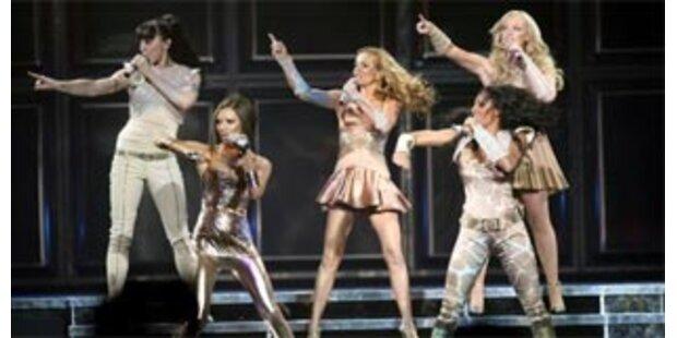 Erster Auftritt in London - Spice Girls zeigen Mut zur Selbstironie