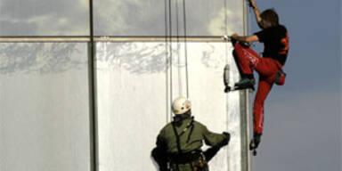 """Französischer """"Spiderman"""" in Moskau festgenommen"""