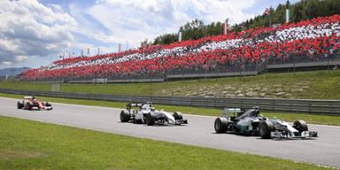 Formel-1 Welt blickt nach Österreich