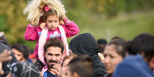 Bis 2020 kommen 3,6 Millionen Flüchtlinge