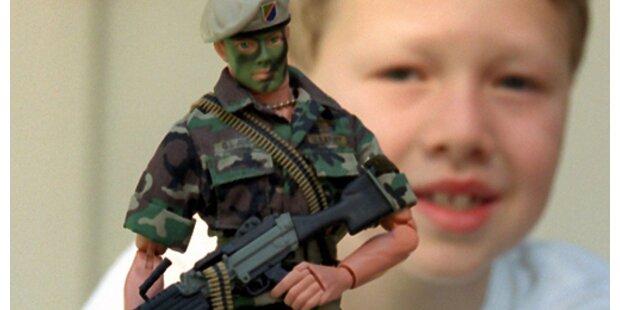 Papst gegen Kriegsspielzeug