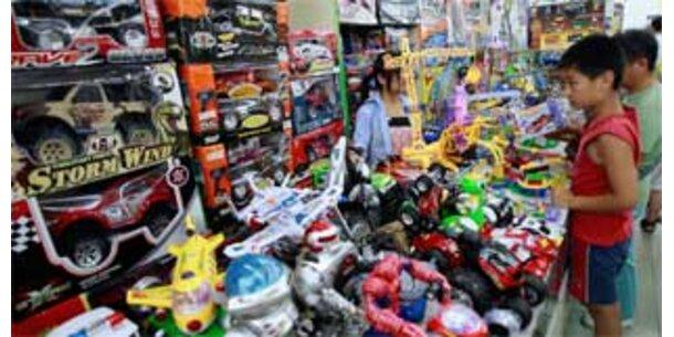 Spielzeug aus China enthält krebserregenden Weichmacher