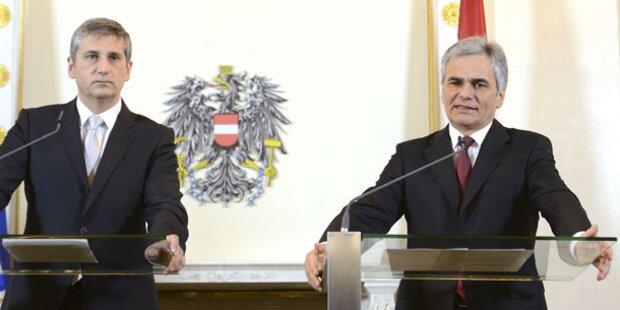 Heeres-Befragung: Jetzt bebt Koalition