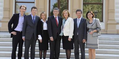 Erstes Zeugnis für neues ÖVP-Team