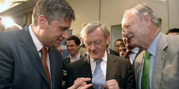 Alle Reaktionen zum Schüssel-Rücktritt