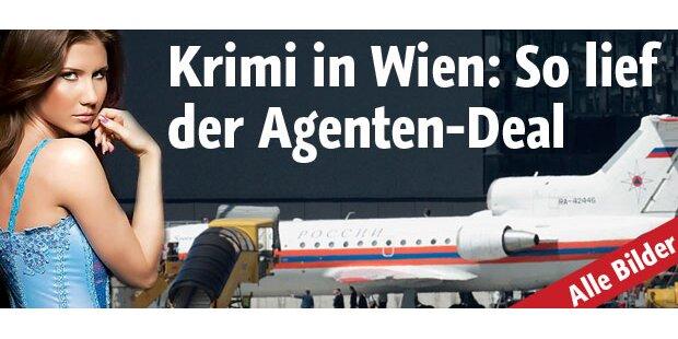 Agentenaustausch in Wien abgeschlossen