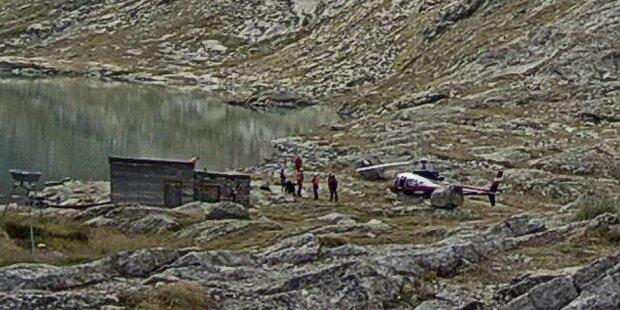 Fünf Tote bei Bergunfall - Überlebender in kritischem Zustand
