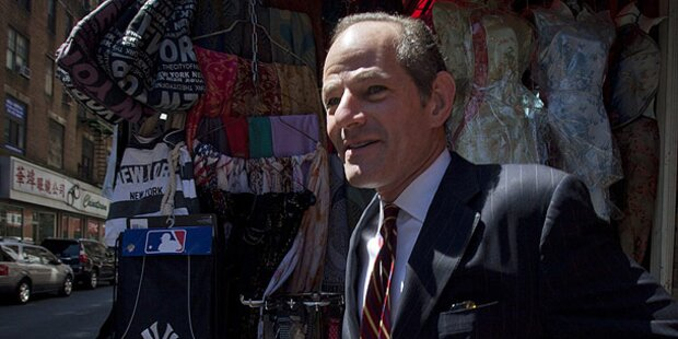 Eliot Spitzer: Banker zittern vor Comeback des Wall-Street-Sheriff