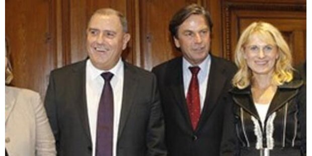 Steir. Regierung mit 2 neuen Mitgliedern