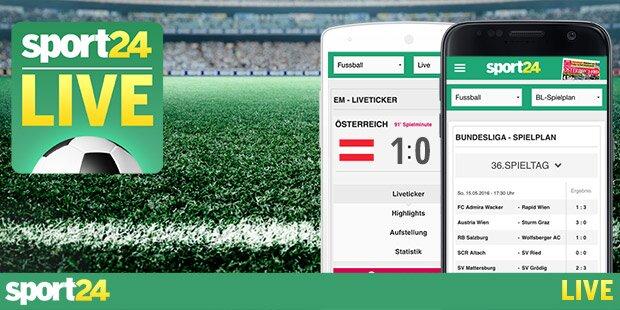 Die sport24 LIVE App