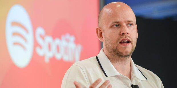 Spotify stellte Antrag für Börsengang