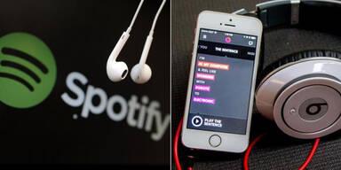 Streaming-Dienste pushen Musikmarkt