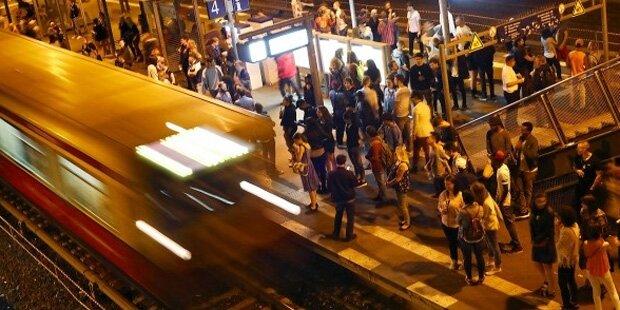 U-Bahn riss Mann ein Bein ab