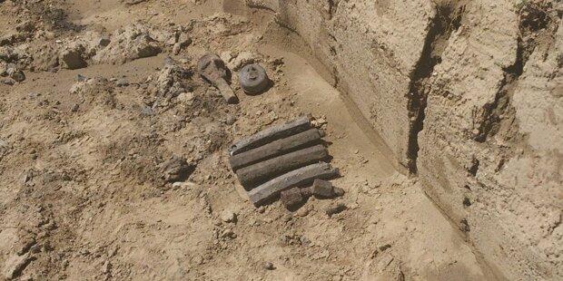 Sprengmittel aus dem 2. Weltkrieg gefunden