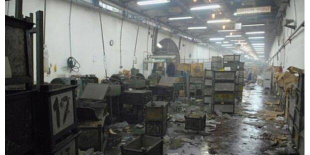 Explosion in serbischer Munitionsfabrik