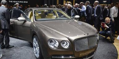 Bentley ruft Luxus-Karossen zurück