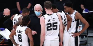 Spurs & Pöltl unterliegen NBA-Nachzügler