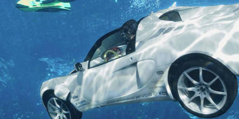 Öko-Sportwagen geht auf Tauchstation