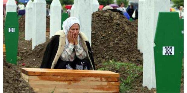 Gedenken an das Srebrenica-Massaker