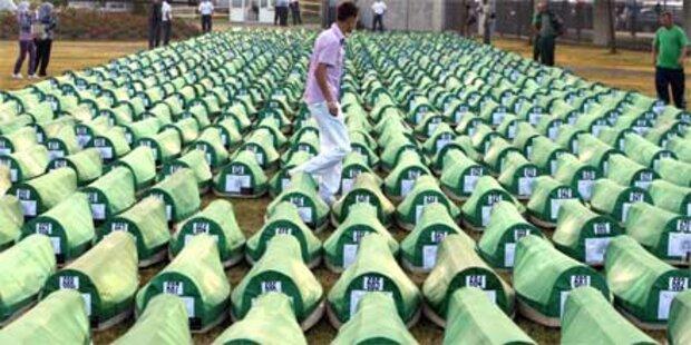 Ekat bei Srebrenica-Gedenkfeier