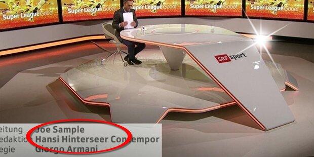 Schweizer TV sorgt mit Hinterseer-Witz für Lacher
