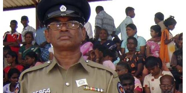 Tamilen-Anführer festgenommen