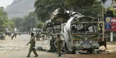 Rebellen sprengen Bus in Sri Lanka - 12 Tote