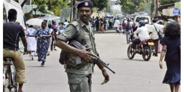 78 Tote bei Gefechten in Sri Lanka