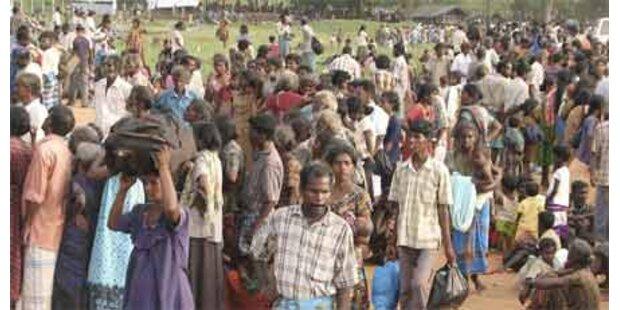 UNO über Kämpfe in Sri Lanka besorgt