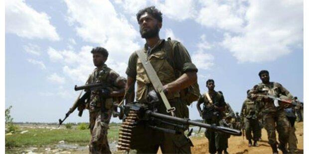 Tamilen-Rebellen bieten Waffenruhe an