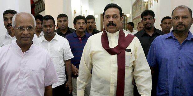Amtsinhaber verlor Wahlen in Sri Lanka